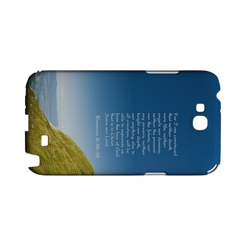 Romans 8:38-39 - Geeks Designer Line (GDL) Bible Verse Series Hard Back Cover for Samsung Galaxy Note 2