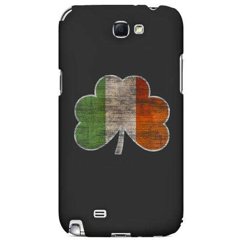 Irish Clover Flag - Geeks Designer Line Holiday Series Hard Case for Samsung Galaxy Note 2