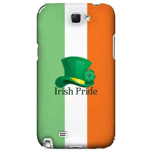 Irish Pride - Geeks Designer Line Holiday Series Hard Case for Samsung Galaxy Note 2