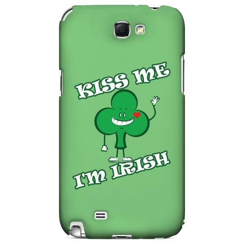 Kiss Me - Geeks Designer Line Holiday Series Hard Case for Samsung Galaxy Note 2