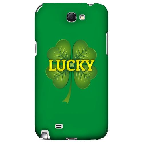 Lucky - Geeks Designer Line Holiday Series Hard Case for Samsung Galaxy Note 2