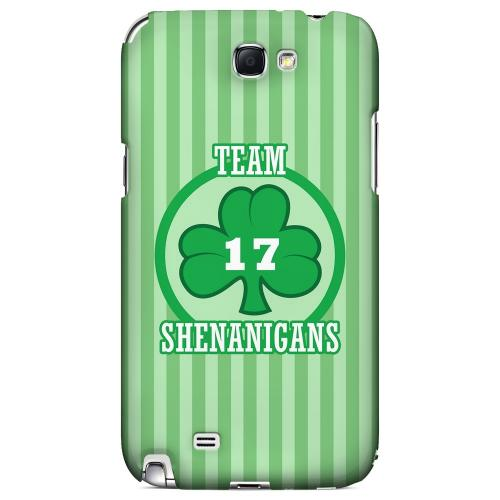 Team Shenanigans - Geeks Designer Line Holiday Series Hard Case for Samsung Galaxy Note 2