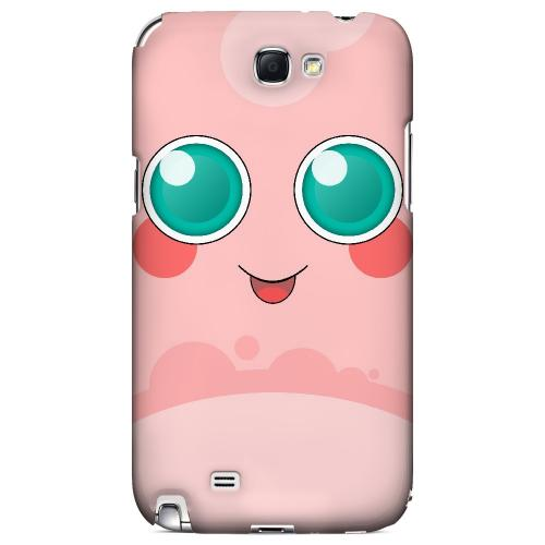 Pigglypoop - Geeks Designer Line Toon Series Hard Case for Samsung Galaxy Note 2