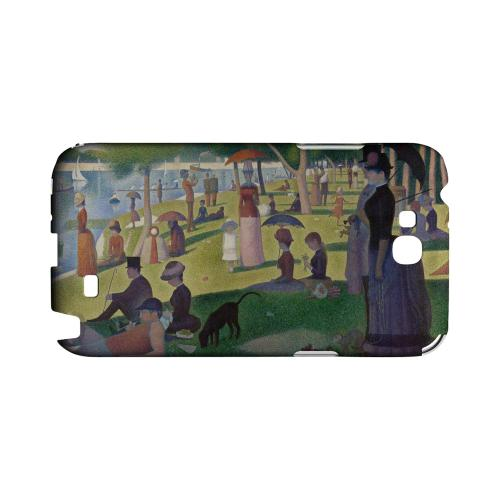 Georges Seurat Sunday Afternoon on the Island of La Grand Jatte Geeks Designer Line Artist Series Slim Hard Case for Samsung Galaxy Note 2