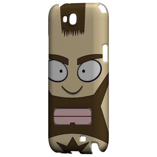 Zman - Geeks Designer Line Toon Series Hard Case for Samsung Galaxy Note 2