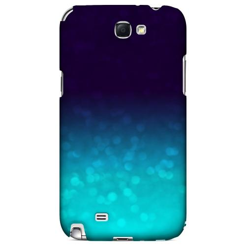 Sparkling Sea - Geeks Designer Line Ombre Series Hard Case for Samsung Galaxy Note 2