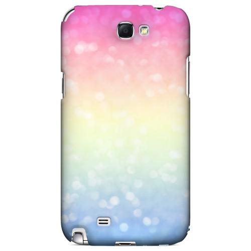Pale Prismatic - Geeks Designer Line Ombre Series Hard Case for Samsung Galaxy Note 2