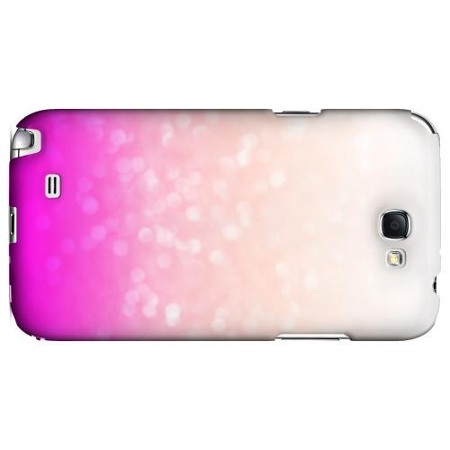 Deep Blush - Geeks Designer Line Ombre Series Hard Case for Samsung Galaxy Note 2