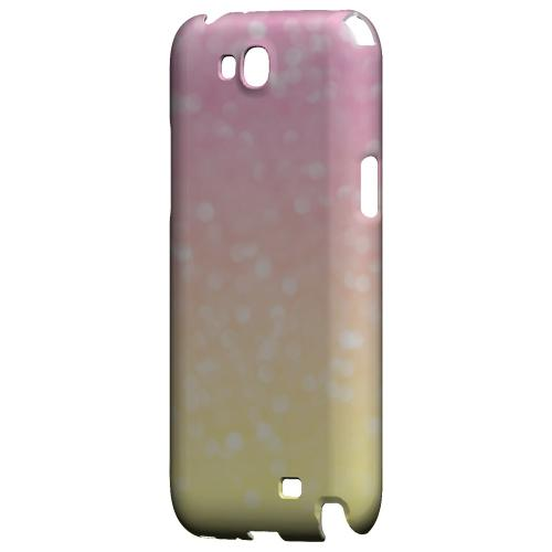 Bubble Gum Squeeze - Geeks Designer Line Ombre Series Hard Case for Samsung Galaxy Note 2