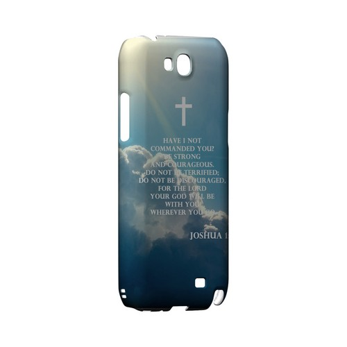Joshua 1:9 - Geeks Designer Line (GDL) Bible Verse Series Hard Back Cover for Samsung Galaxy Note 2