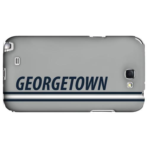Georgetown - Geeks Designer Line March Madness Series Hard Case for Samsung Galaxy Note 2