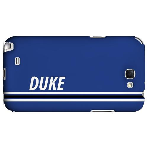 Duke - Geeks Designer Line March Madness Series Hard Case for Samsung Galaxy Note 2