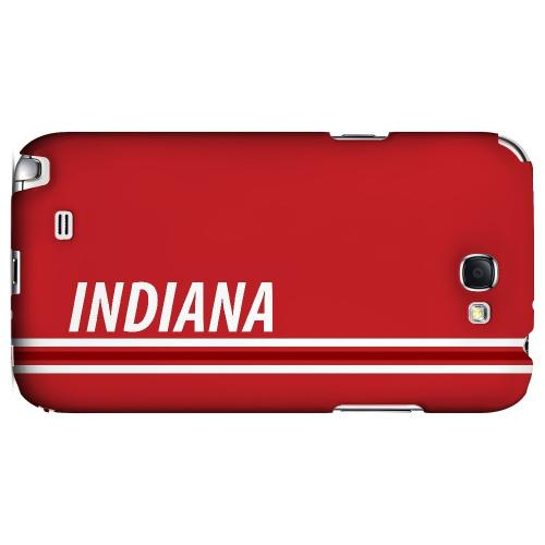 Indiana - Geeks Designer Line March Madness Series Hard Case for Samsung Galaxy Note 2