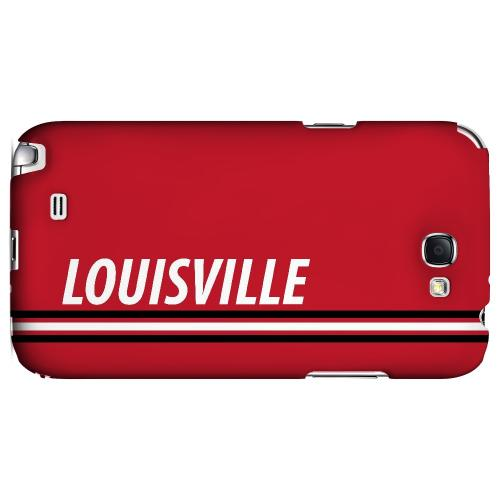 Louisville - Geeks Designer Line March Madness Series Hard Case for Samsung Galaxy Note 2