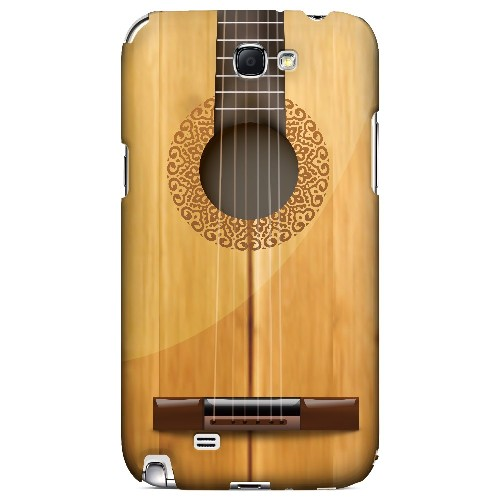 Acoustic Guitar - Geeks Designer Line Music Series Hard Case for Samsung Galaxy Note 2