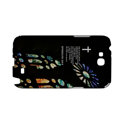 Ephesians 2:8-9 - Geeks Designer Line (GDL) Bible Verse Series Hard Back Cover for Samsung Galaxy Note 2