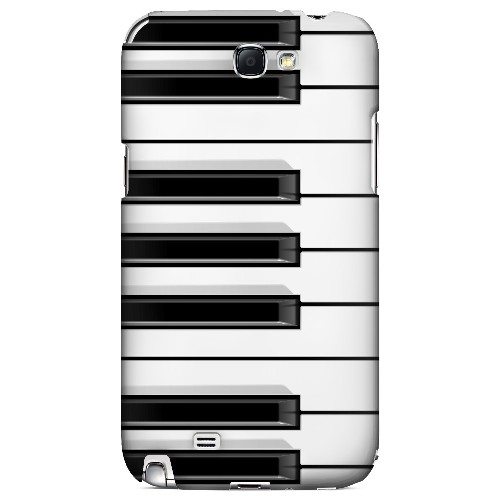 Piano Keys - Geeks Designer Line Music Series Hard Case for Samsung Galaxy Note 2