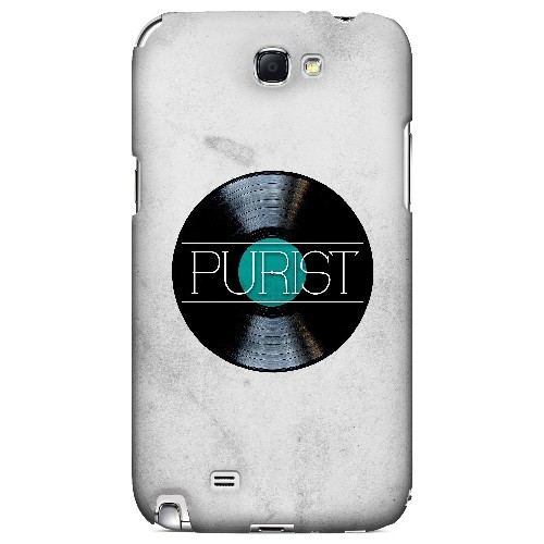 Purist - Geeks Designer Line Music Series Hard Case for Samsung Galaxy Note 2