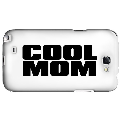Cool Mom - Geeks Designer Line Mom Series Hard Case for Samsung Galaxy Note 2