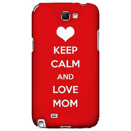 Love Mom - Geeks Designer Line Mom Series Hard Case for Samsung Galaxy Note 2