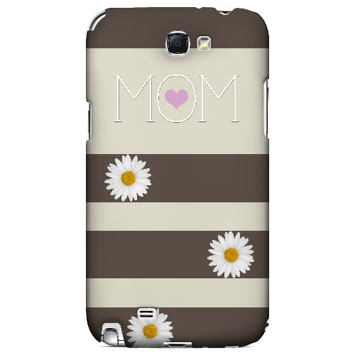 Mom Daisy - Geeks Designer Line Mom Series Hard Case for Samsung Galaxy Note 2