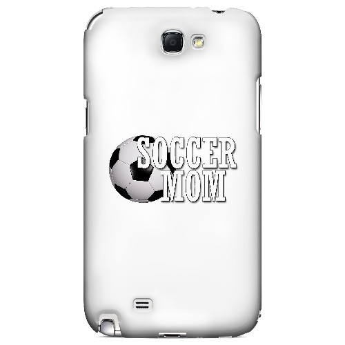 Soccer Mom - Geeks Designer Line Mom Series Hard Case for Samsung Galaxy Note 2