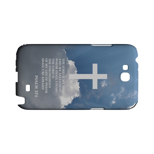 Psalm 27:1 - Geeks Designer Line (GDL) Bible Verse Series Hard Back Cover for Samsung Galaxy Note 2