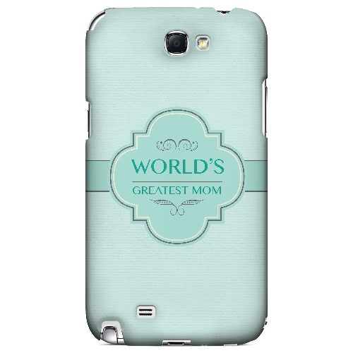 Vintage World's Greatest Mom - Geeks Designer Line Mom Series Hard Case for Samsung Galaxy Note 2