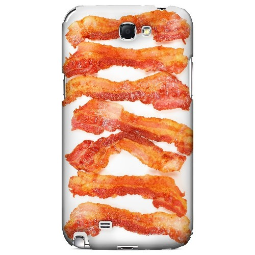Bacon Goes Good - Geeks Designer Line Humor Series Hard Case for Samsung Galaxy Note 2