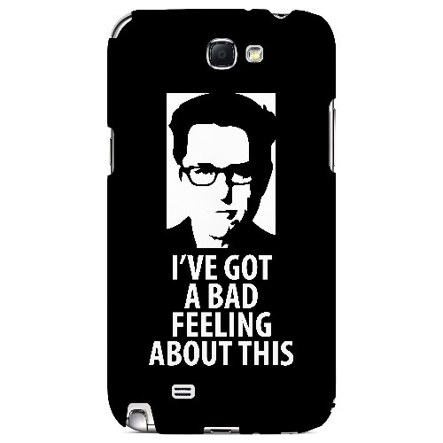 Bad Feeling - Geeks Designer Line Humor Series Hard Case for Samsung Galaxy Note 2