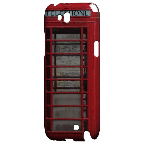 English Telephone Booth - Geeks Designer Line Humor Series Hard Case for Samsung Galaxy Note 2