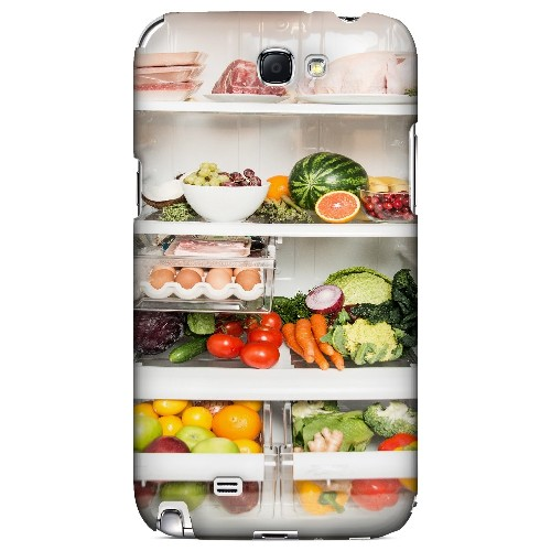 Refrigerator - Geeks Designer Line Humor Series Hard Case for Samsung Galaxy Note 2