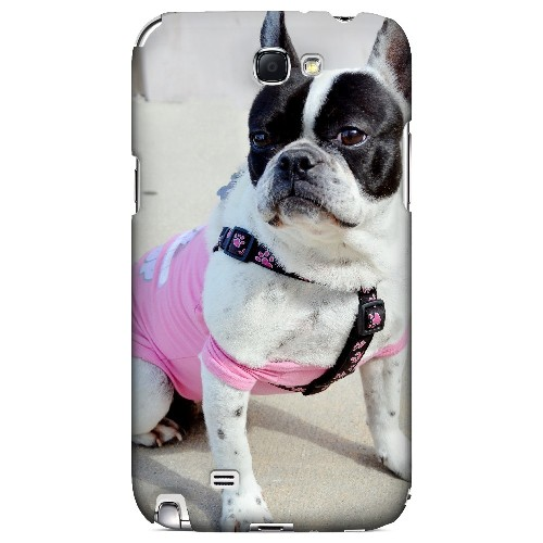 English Bulldog Mix - Geeks Designer Line Puppy Series Hard Case for Samsung Galaxy Note 2