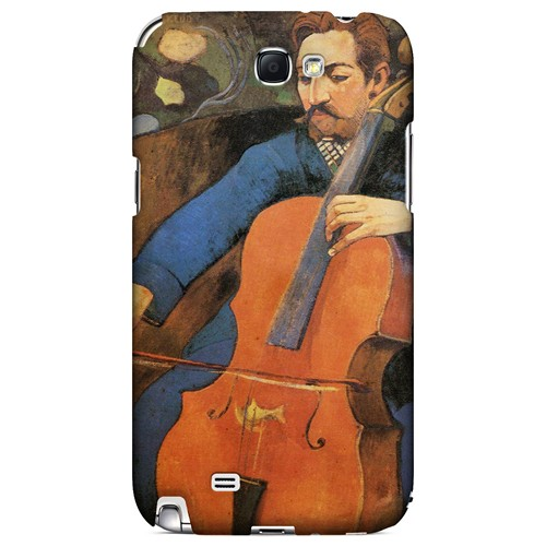 The Cellist by Paul Gauguin - Geeks Designer Line Artist Series Hard Case for Samsung Galaxy Note 2