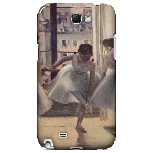 Three Dancers in an Exercise Hall by Edgar Degas - Geeks Designer Line Artist Series Hard Case for Samsung Galaxy Note 2