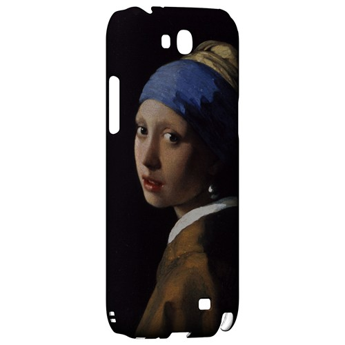 Girl with a Pearl Earring by Jan Vermeer - Geeks Designer Line Artist Series Hard Case for Samsung Galaxy Note 2