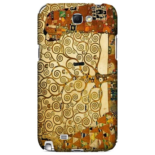 Tree of Life by Gustav Klimt - Geeks Designer Line Artist Series Hard Case for Samsung Galaxy Note 2