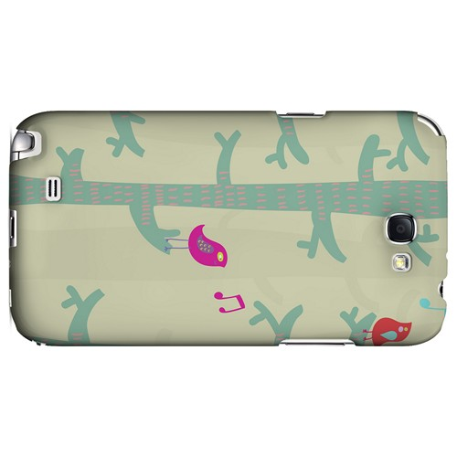 Spring Sing Forest - Geeks Designer Line Spring Series Hard Case for Samsung Galaxy Note 2