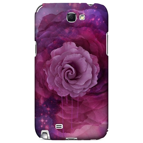 Space Bloom - Geeks Designer Line Spring Series Hard Case for Samsung Galaxy Note 2
