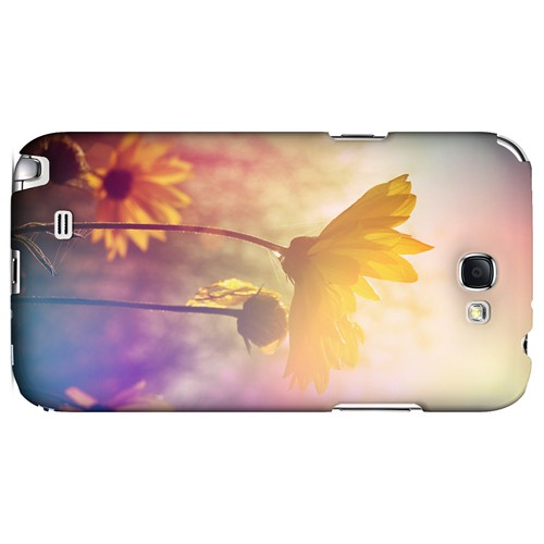 Colorful Daisy Bloom - Geeks Designer Line Spring Series Hard Case for Samsung Galaxy Note 2