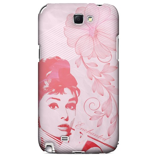Enchanted - Geeks Designer Line Spring Series Hard Case for Samsung Galaxy Note 2