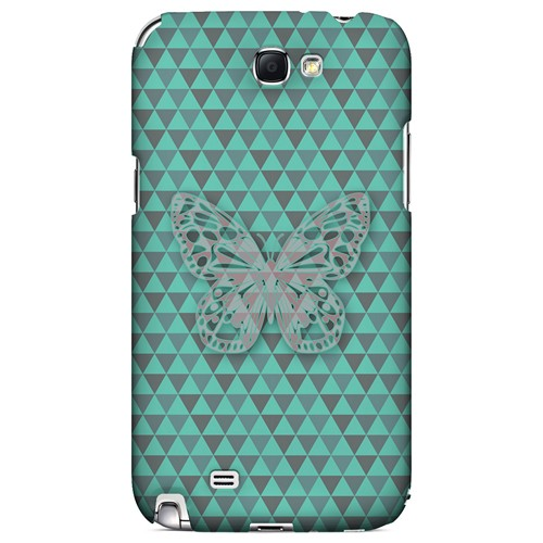Butterfly Crypsis - Geeks Designer Line Spring Series Hard Case for Samsung Galaxy Note 2