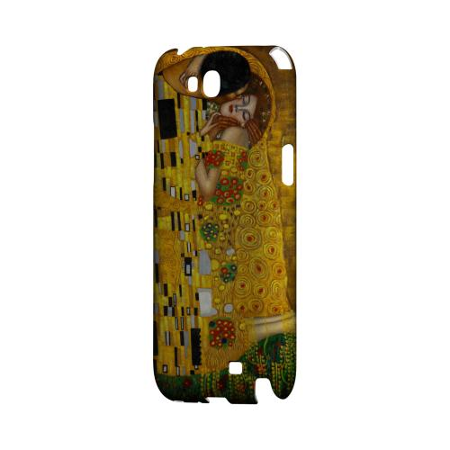 Gustav Klimt The Kiss Geeks Designer Line Artist Series Slim Hard Case for Samsung Galaxy Note 2