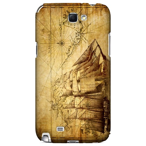 British Sea Power - Geeks Designer Line Map Series Hard Case for Samsung Galaxy Note 2