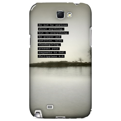 Philippians 4:6 - Geeks Designer Line Bible Series Hard Case for Samsung Galaxy Note 2
