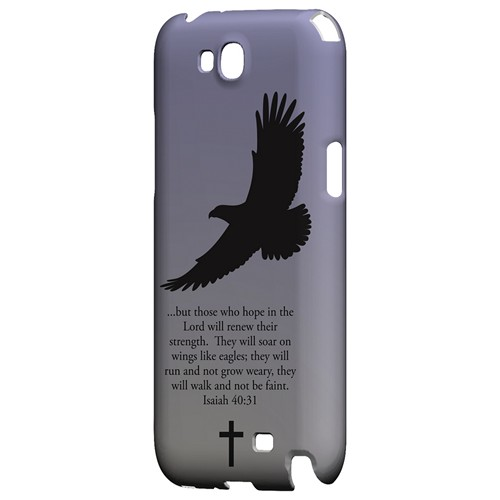 Isaiah 40:31 - Sleepy Grape - Geeks Designer Line Bible Series Hard Case for Samsung Galaxy Note 2