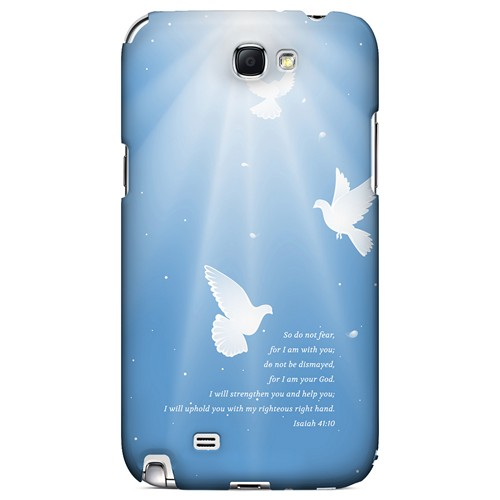 Isaiah 41:10 - Geeks Designer Line Bible Series Hard Case for Samsung Galaxy Note 2