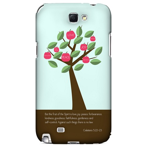 Galatians 5:22-23 - Geeks Designer Line Bible Series Hard Case for Samsung Galaxy Note 2
