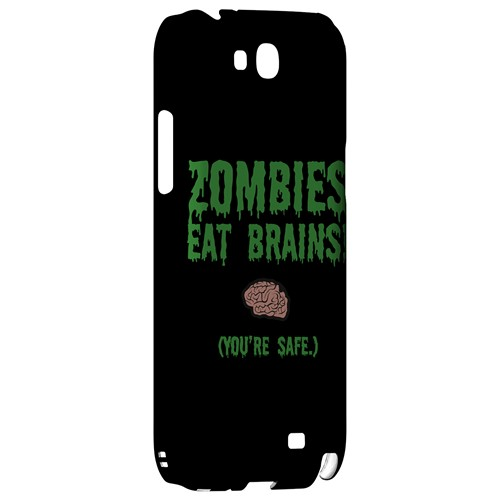 Zombies Eat Brains - Geeks Designer Line Apocalyptic Series Hard Case for Samsung Galaxy Note 2