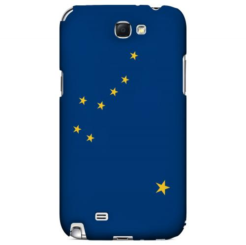 Alaska - Geeks Designer Line Flag Series Hard Back Case for Samsung Galaxy Note 2